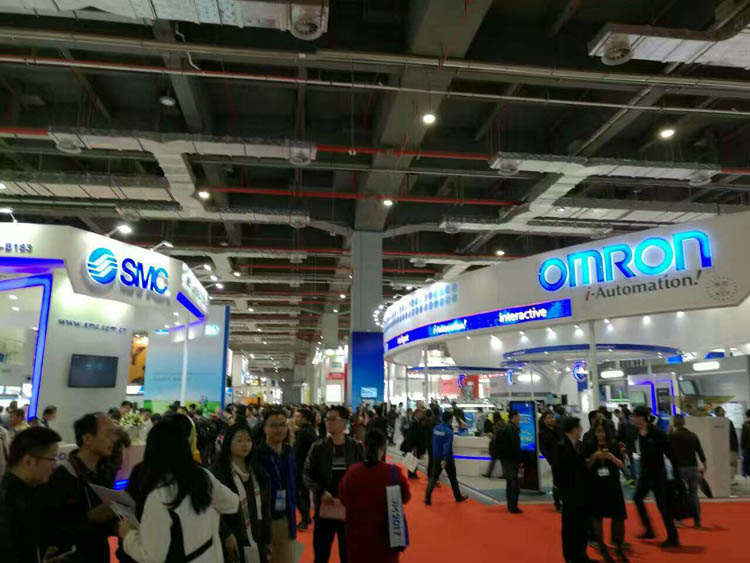 上海展会现场
